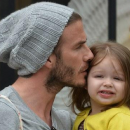 David Beckham se fait tatouer un dessin de sa fille et on adore !