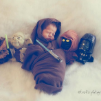 PHOTOS – Star Wars : découvrez Ezra, le bébé Jedi !