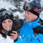 PHOTOS - Les Cambridges en vacances : la Princesse Charlotte découvre le ski !